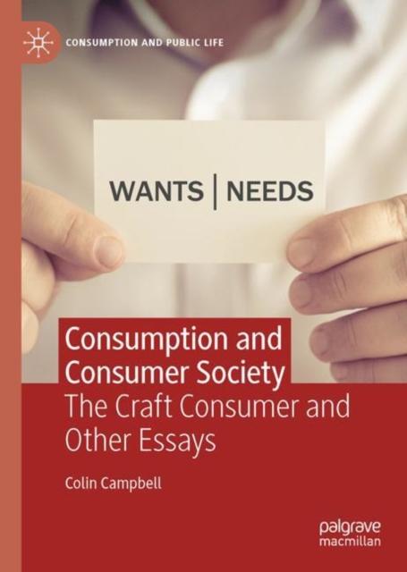 Consumption and Consumer Society