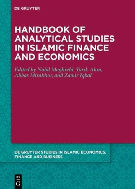 Handbook of Analytical Studies in Islamic Finance and Economics