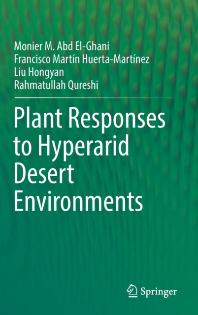Plant Responses to Hyperarid Desert Environments