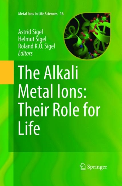 Alkali Metal Ions: Their Role for Life