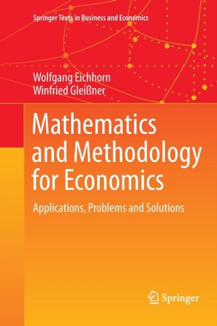 Mathematics and Methodology for Economics