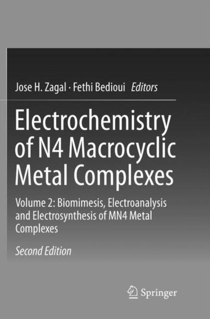 Electrochemistry of N4 Macrocyclic Metal Complexes