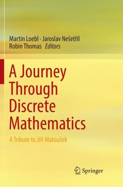 Journey Through Discrete Mathematics