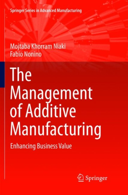 Management of Additive Manufacturing