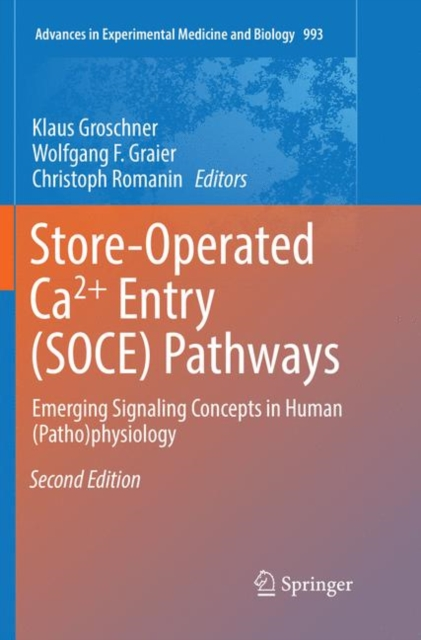 Store-Operated Ca(2)+ Entry (SOCE) Pathways