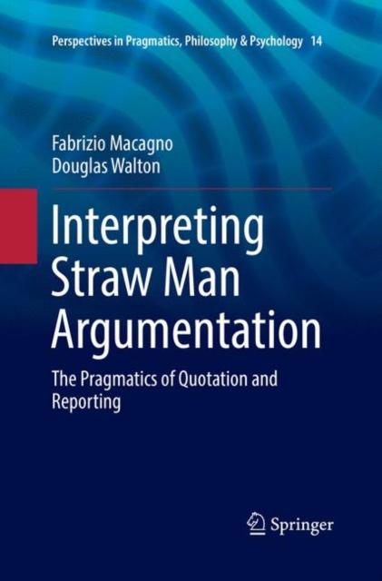 Interpreting Straw Man Argumentation