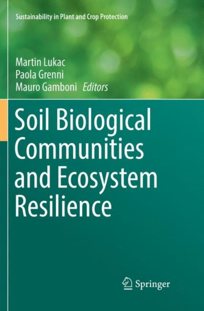 Soil Biological Communities and Ecosystem Resilience