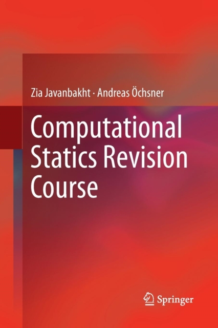Computational Statics Revision Course