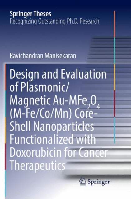 Design and Evaluation of Plasmonic/Magnetic Au-MFe2O4 (M-Fe/Co/Mn) Core-Shell Nanoparticles Functionalized with Doxorubicin for Cancer Therapeutics
