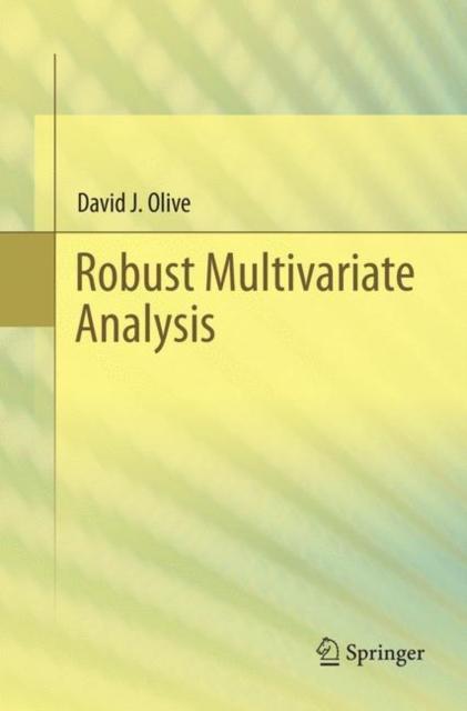 Robust Multivariate Analysis
