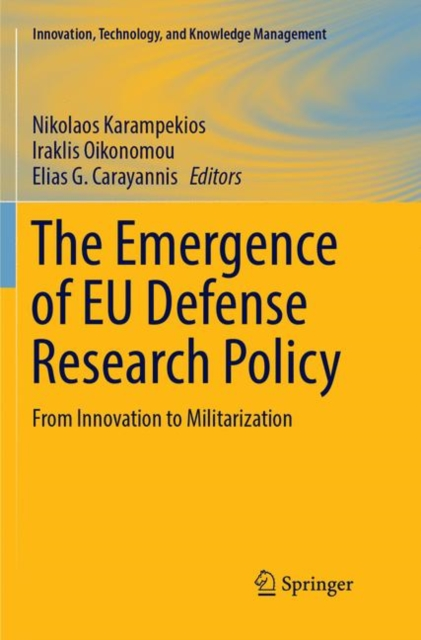 Emergence of EU Defense Research Policy