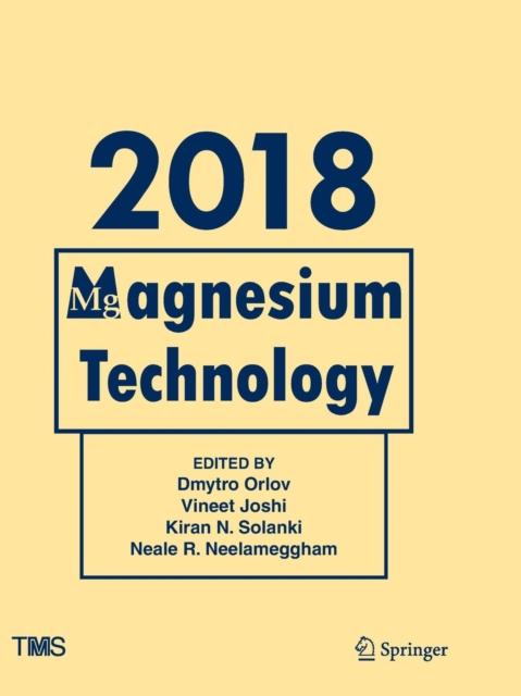 Magnesium Technology 2018