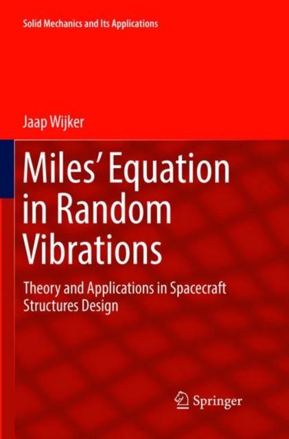 Miles' Equation in Random Vibrations