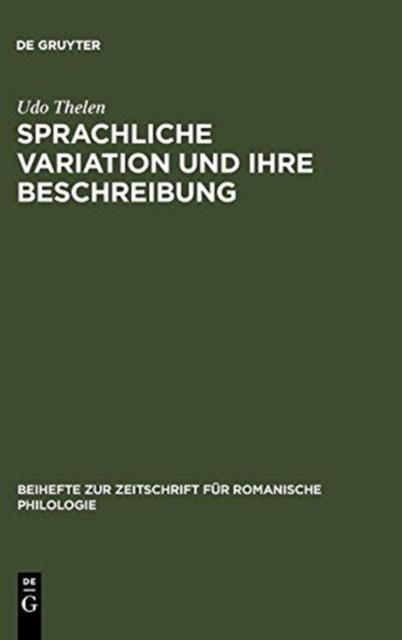Sprachliche Variation und ihre Beschreibung