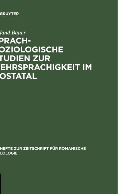 Sprachsoziologische Studien Zur Mehrsprachigkeit Im Aostatal