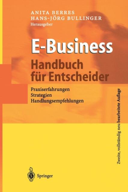 E-Business - Handbuch Fur Entscheider