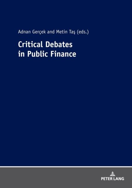 Critical Debates in Public Finance