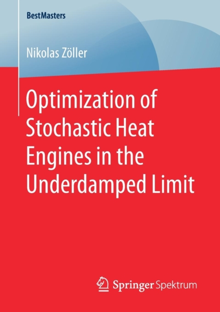 Optimization of Stochastic Heat Engines in the Underdamped Limit