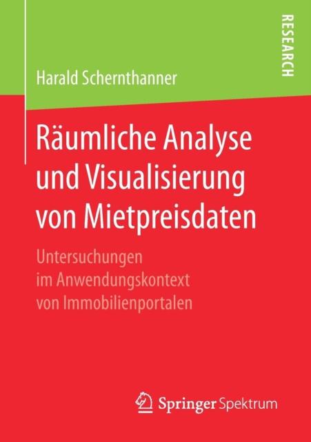 Raumliche Analyse Und Visualisierung Von Mietpreisdaten