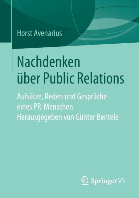 Nachdenken UEber Public Relations