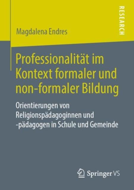 Professionalitat Im Kontext Formaler Und Non-Formaler Bildung