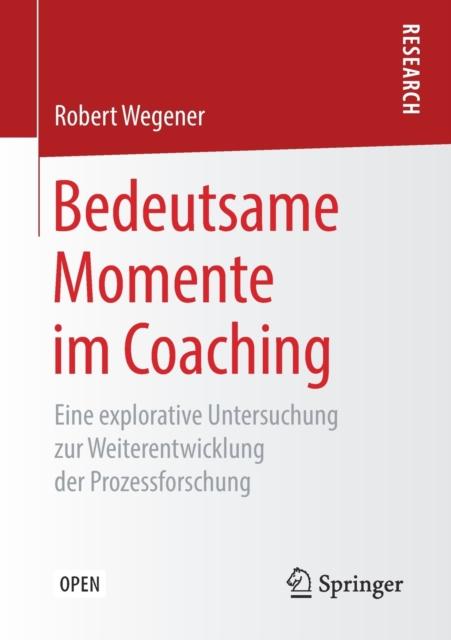 Bedeutsame Momente Im Coaching