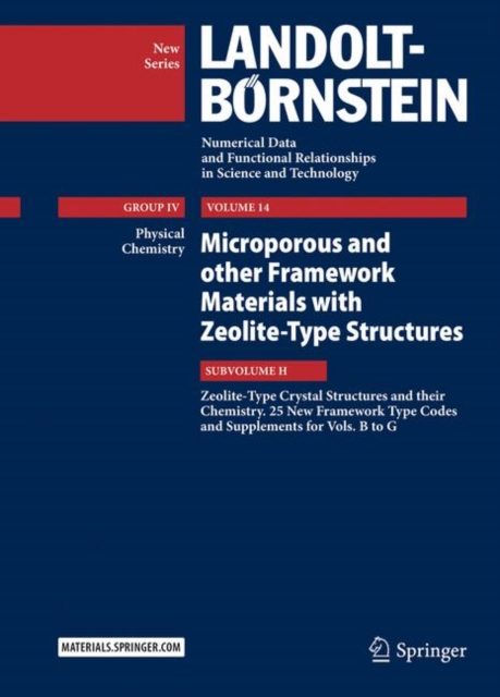 Microporous and other Framework Materials with Zeolite-Type Structures