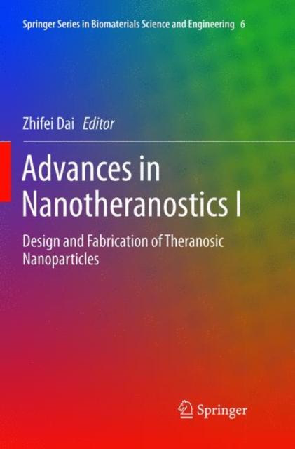 Advances in Nanotheranostics I
