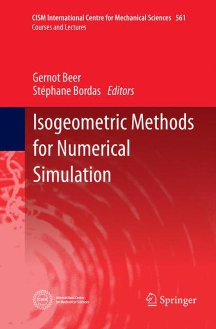 Isogeometric Methods for Numerical Simulation