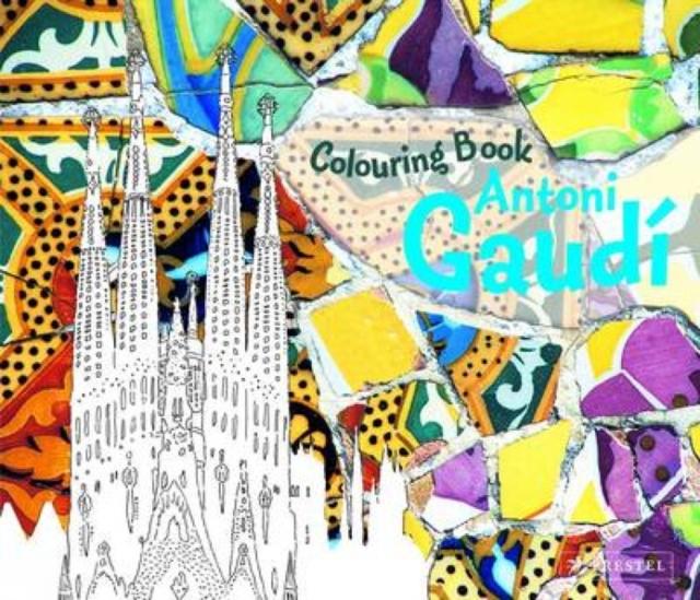 Antoni Gaudi: Coloring Book