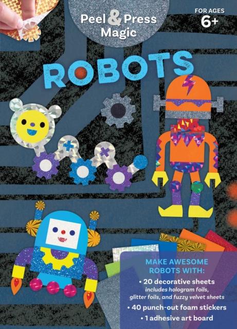 Peel & Press Magic: Robots