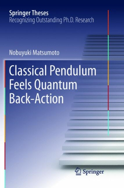 Classical Pendulum Feels Quantum Back-Action