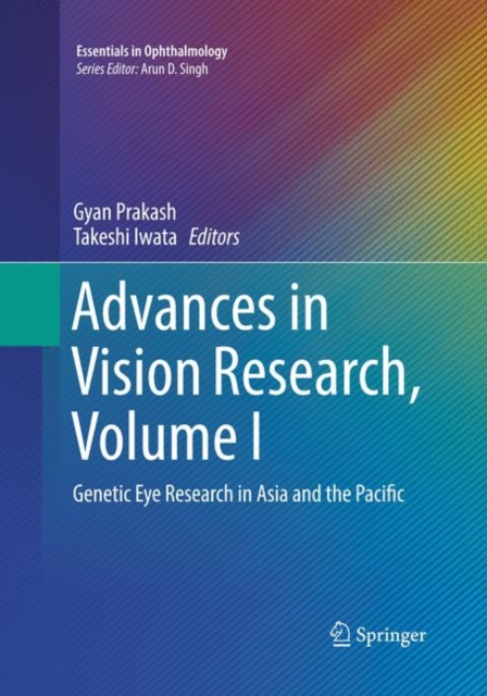 Advances in Vision Research, Volume I