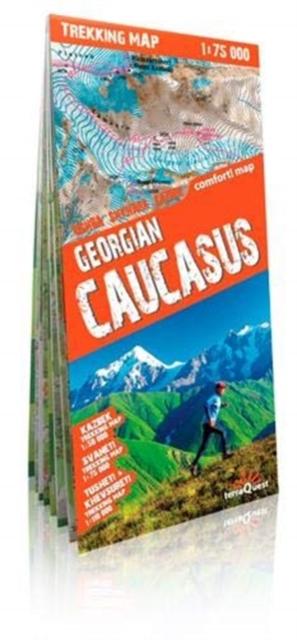 terraQuest Trekking Map Georgian Caucasus