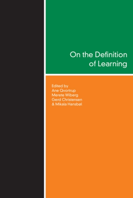 On the Definition of Learning