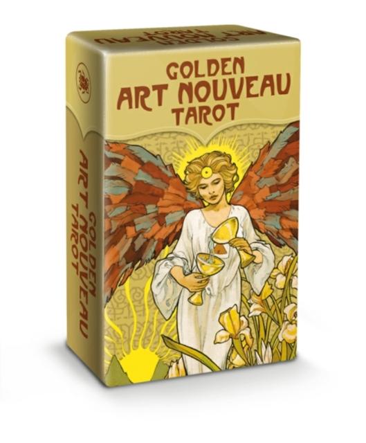 Golden Art Nouveau Tarot - Mini Tarot