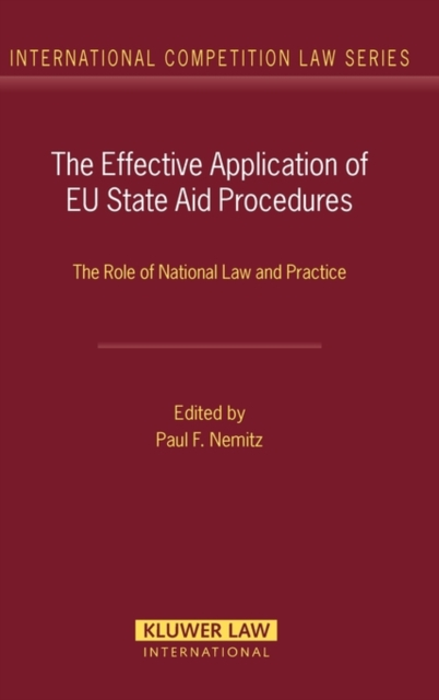 Effective Application of EU State Aid Procedures
