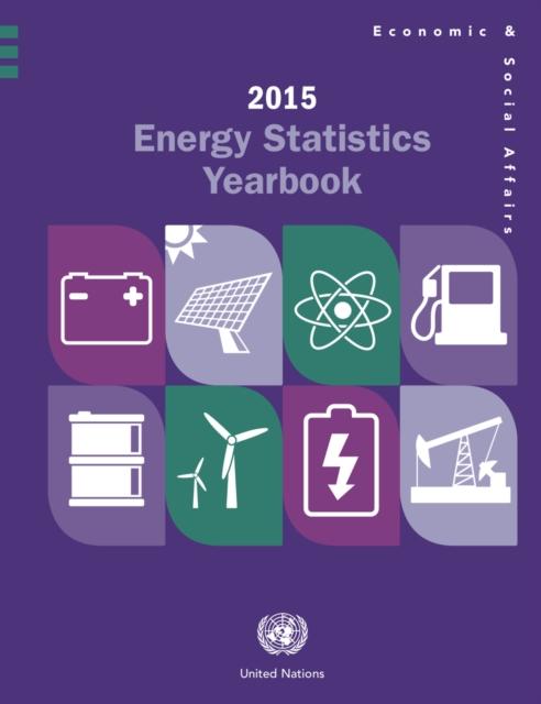 Energy statistics yearbook 2015