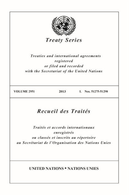 Treaty Series 2951 (English/French Edition)