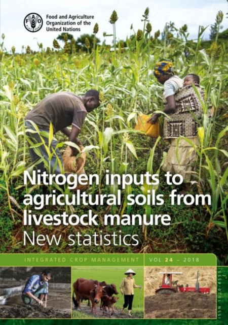 Nitrogen inputs to agricultural soils from livestock manure