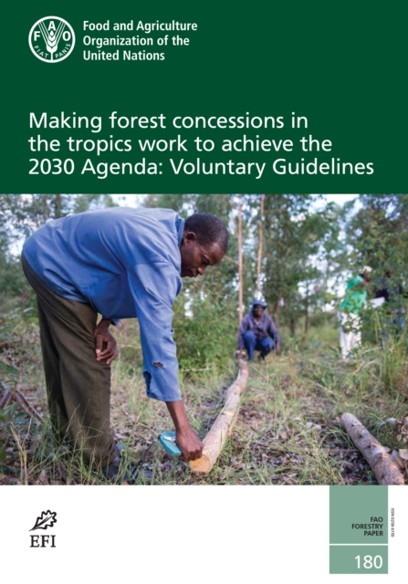Making forest concessions in the tropics work to achieve the 2030 Agenda