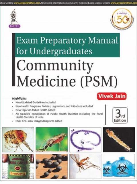 Exam Preparatory Manual for Undergraduates: Community Medicine (PSM)