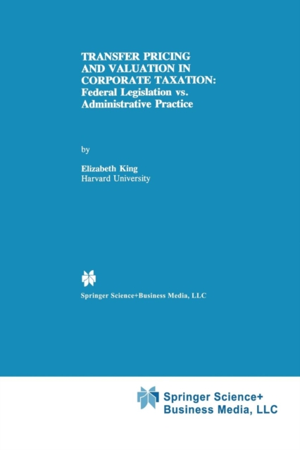 Transfer Pricing and Valuation in Corporate Taxation