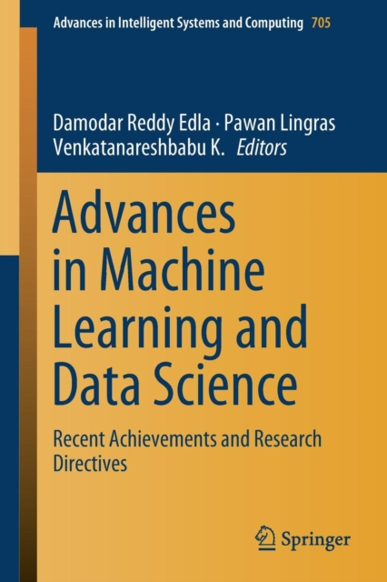 Advances in Machine Learning and Data Science