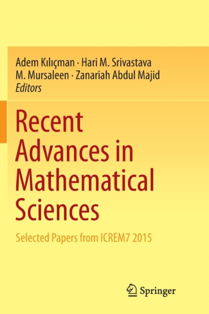 Recent Advances in Mathematical Sciences