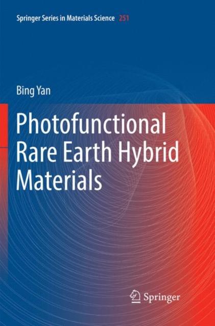 Photofunctional Rare Earth Hybrid Materials