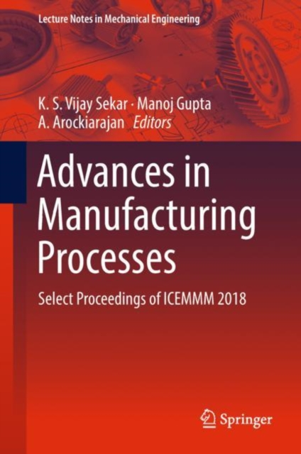 Advances in Manufacturing Processes