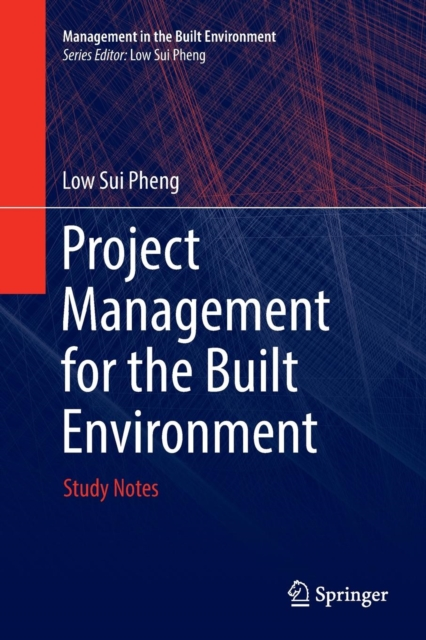 Project Management for the Built Environment