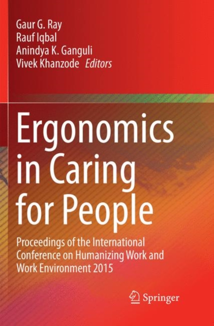 Ergonomics in Caring for People