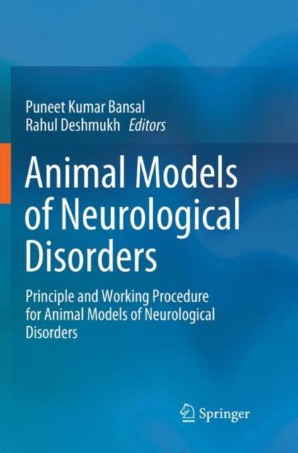 Animal Models of Neurological Disorders
